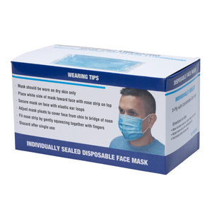 Individually Sealed Face Masks - 480 Day Supply