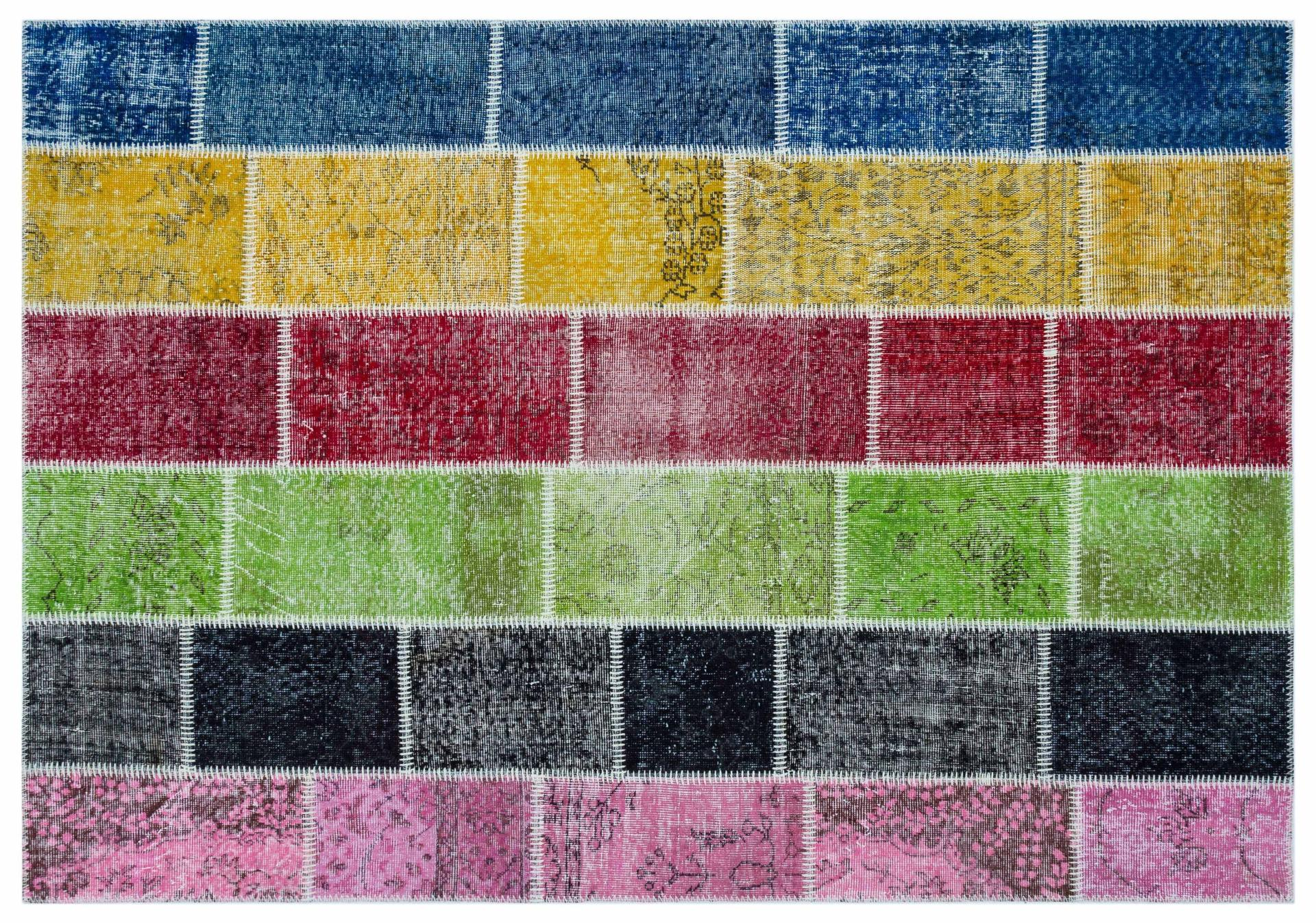 Covor Tesut Manual Patchwork 4013 - 160x230 cm