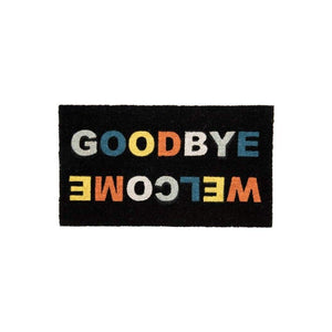 "Covoras intrare ""Welcome/Goodbye"" - NegruCovorase de intrare"