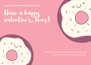HAPPY VALENTINE'S DAY - I Love You More EverydayGift Card