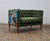 Sofa Loveseat - Green Love (2 Locuri)