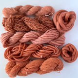 Hand-dyed Yarn Skein Rusty Bicycle