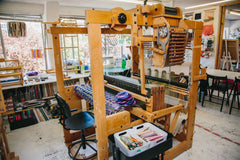 The Oxford Weaving Studio Floor Loom