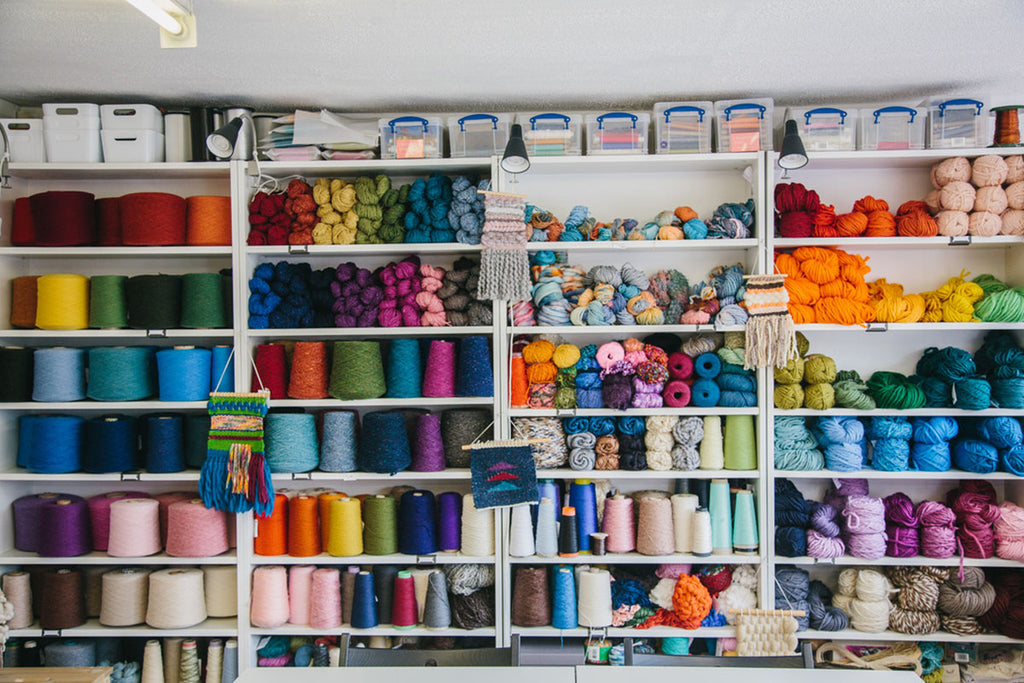 Yarns & Fibres from The Oxford Weaving Studio