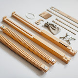 The Oxford Loom disassembled for easy storage
