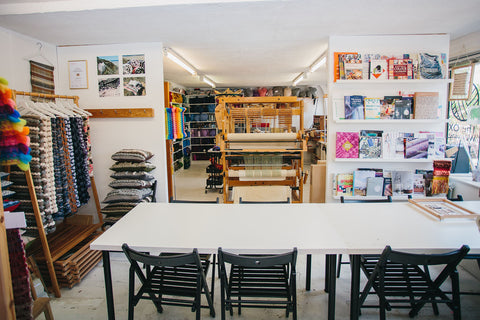 The Oxford Weaving Studio space