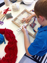 Load image into Gallery viewer, Project Level 1 (Kids): Woven Wall-hanging- Group Workshop