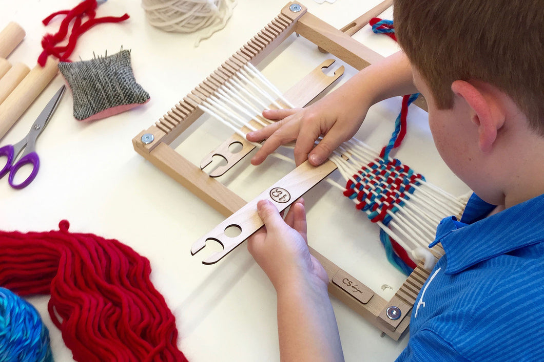 5-Week Intro to Weaving Workshop (Kids & Teens): Group Workshop