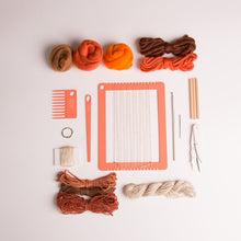 Load image into Gallery viewer, Weaving Kit: Introduction to Weaving  (Rainbow Collection)