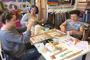 Handwoven Cushion Workshop (Adults): Group Workshop