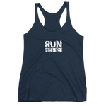 "Hebrews 12:1 ""RUN"" Racer-Back Tank Top"