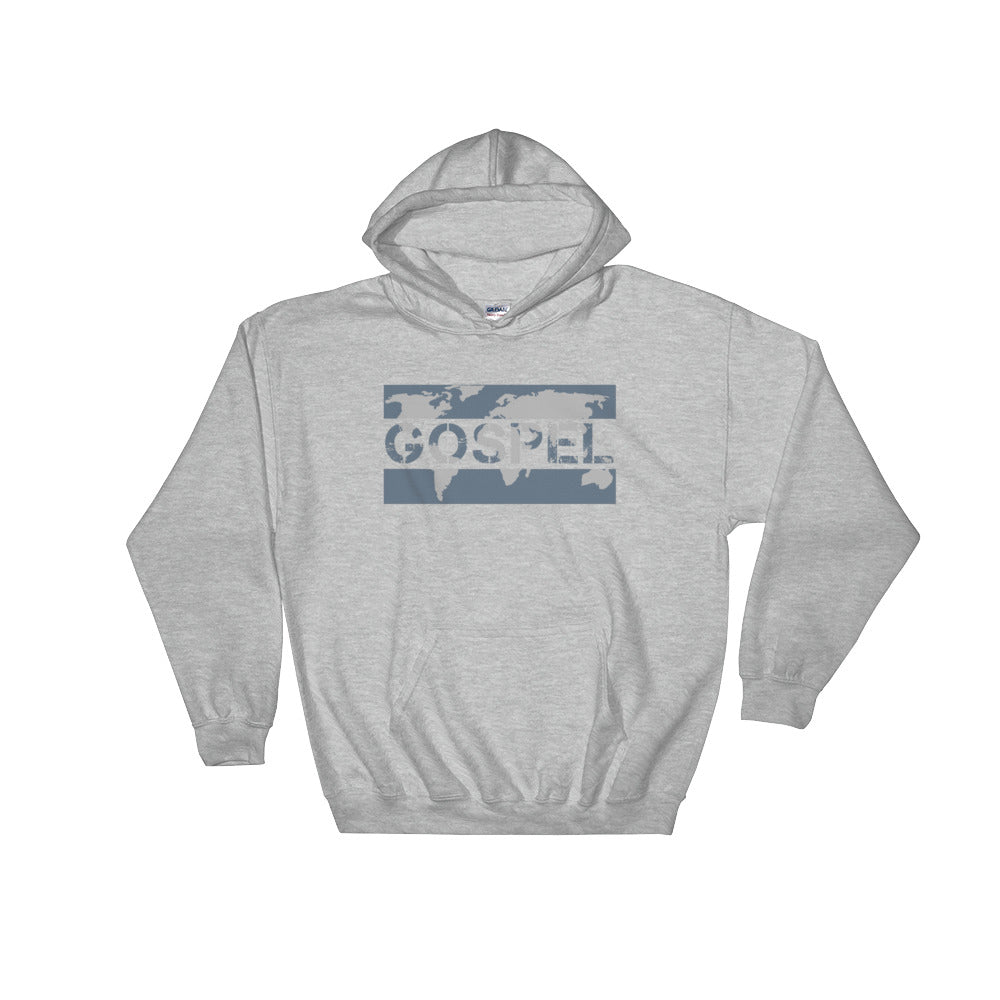 """Gospel"" Christian Hooded Sweatshirt"