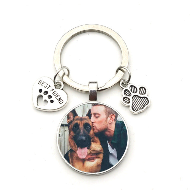 Best Friend Keychain (Pick your pic)