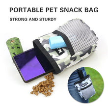 Load image into Gallery viewer, Portable Pet Snack Bag