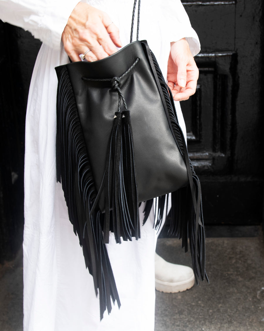 Super Fringe Crossbody Bag