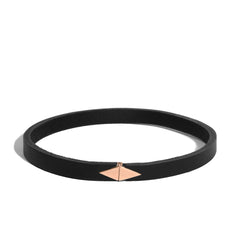 Triangle Leather Choker