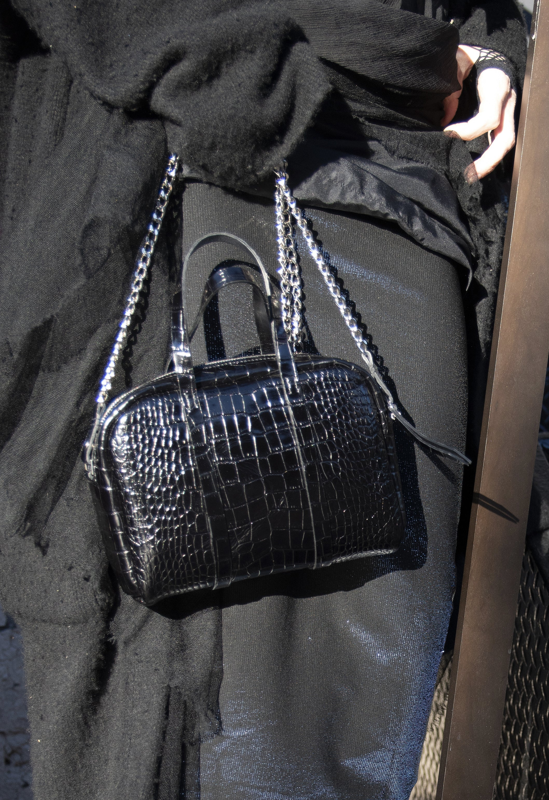 The Croc Chain Duffle Bag