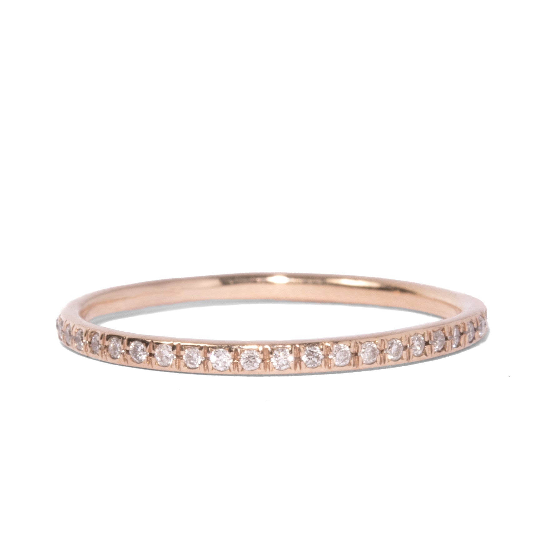 symbol diamond jewellery rosegold stack rose ring infinity eternity bands gold ambra products band