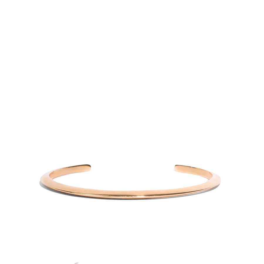 Knife Edge Half Orbit Bangle