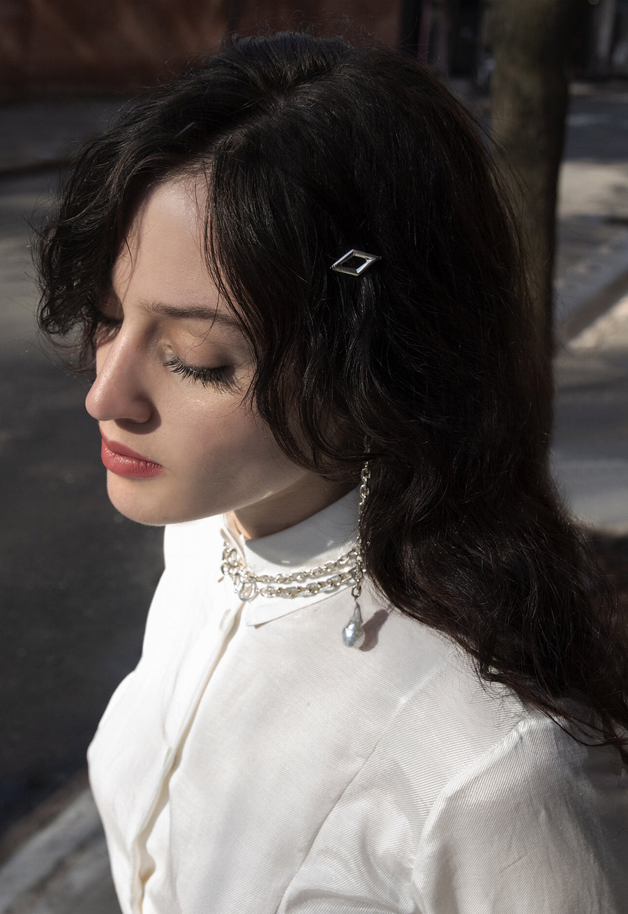 The Diamond Shape Barrette