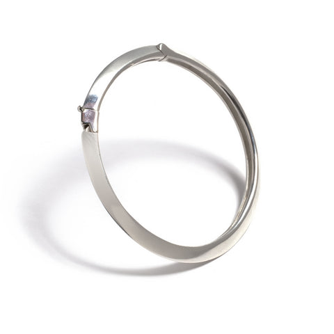 Knife Edge Single Orbit Bracelet Wendy Nichol Fine Jewelry Designer 14k Gold Delicate Simple Cuff Bracelet
