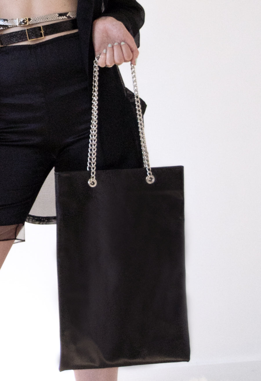 The Leather Luxe Tote