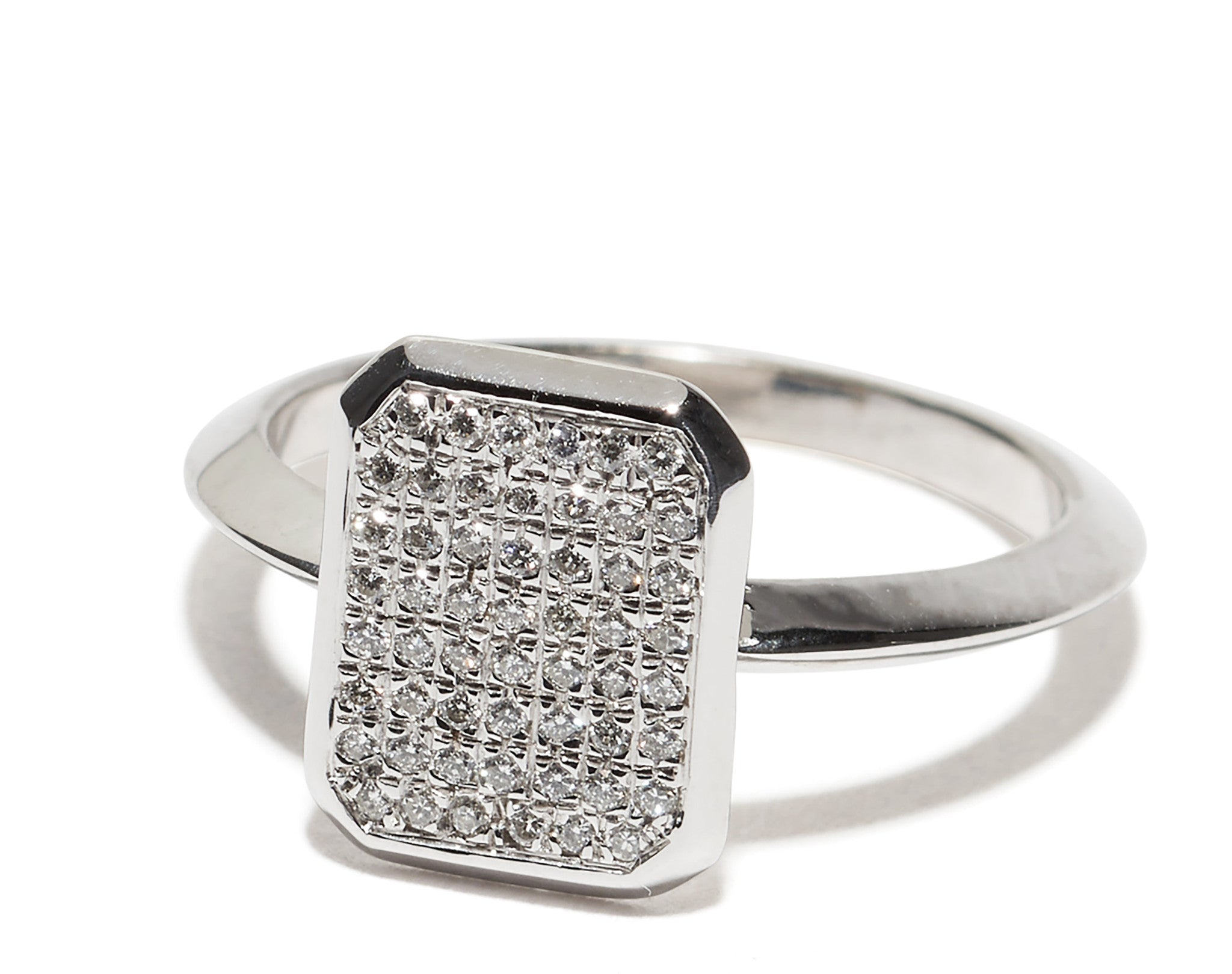 in way micro third diamond white cluster band wedding pave domed bands wb dome gold platinum pav