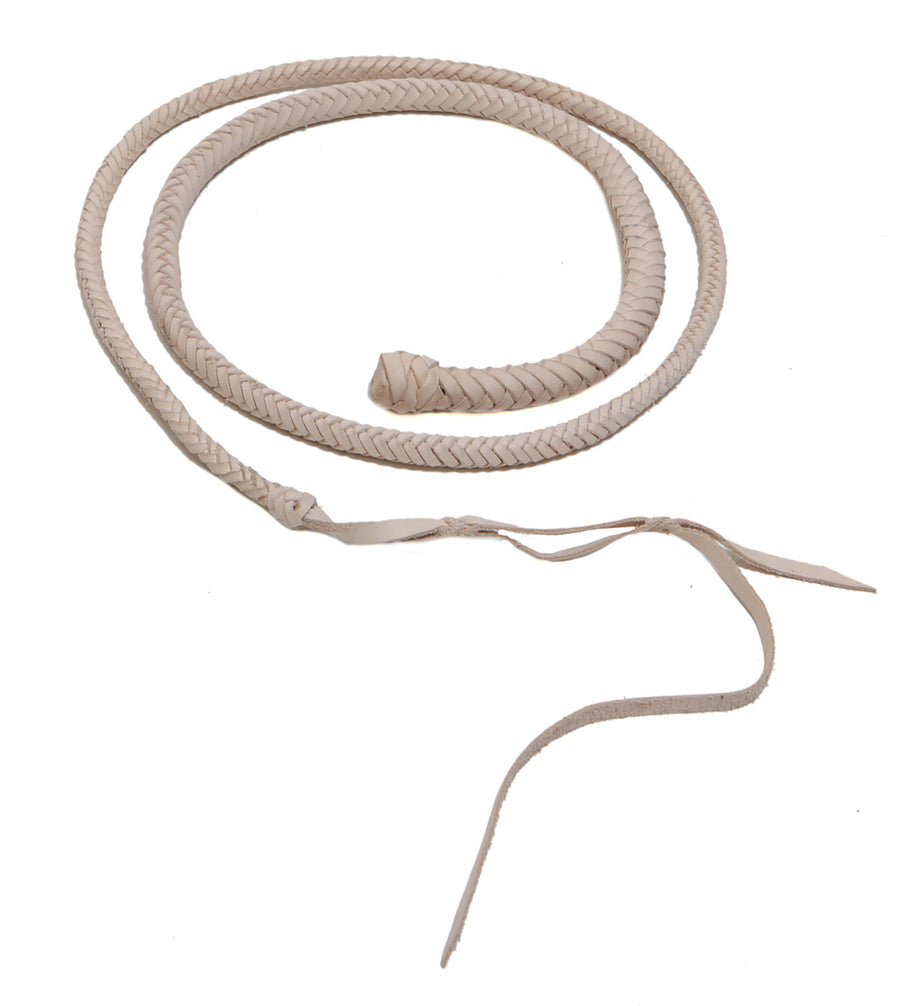 Hand Braided Leather Bullwhip Wendy Nichol Designer Handmade in NYC New York City Bondage S&M dominatrix 50 shades of grey gray black natural Tan pink Leather
