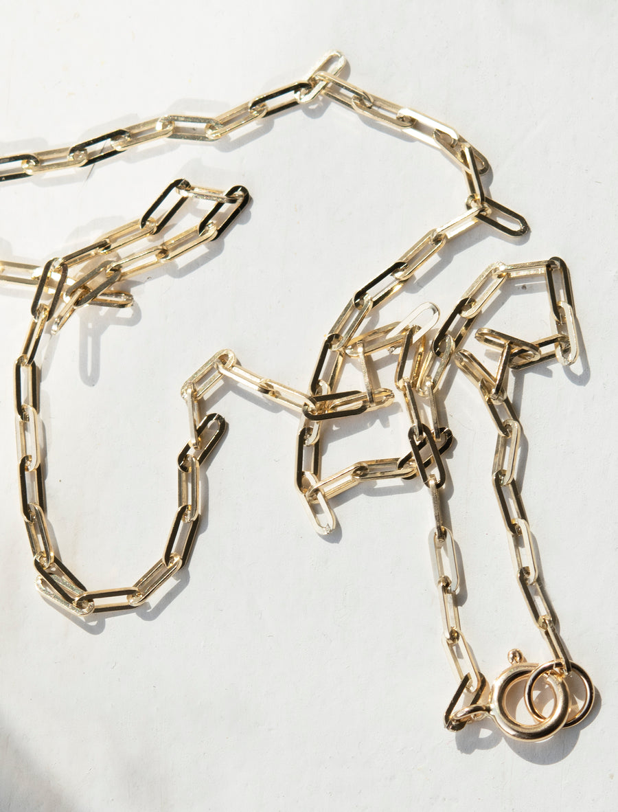 Thin Link Chain Necklace