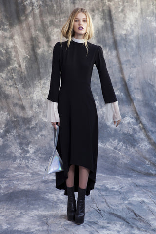 Long Sleeve Cross Dress