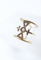 Auspicious Cross Ring