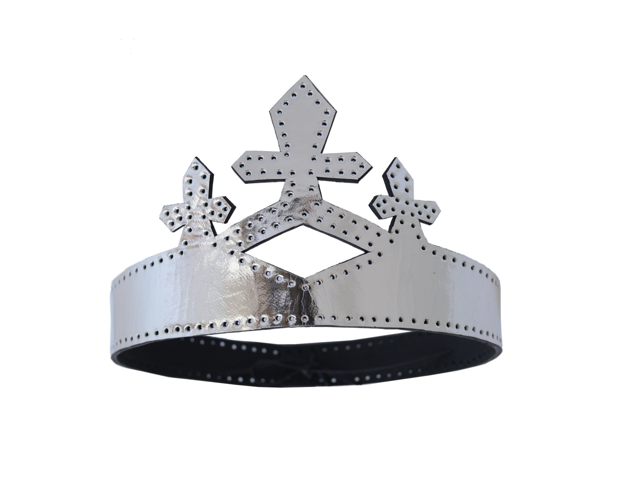Leather Queen Crown