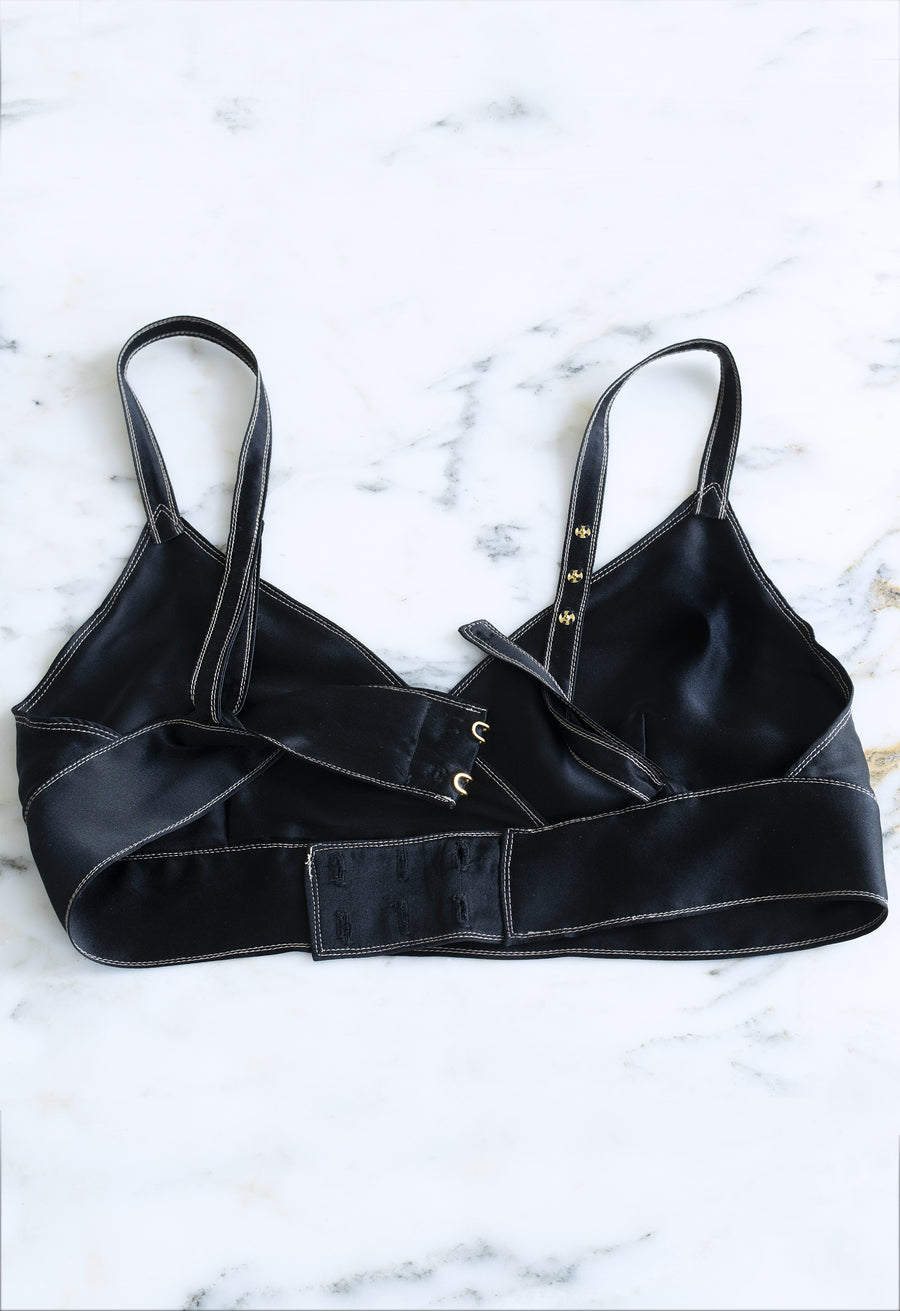 The WN Silk Bralette