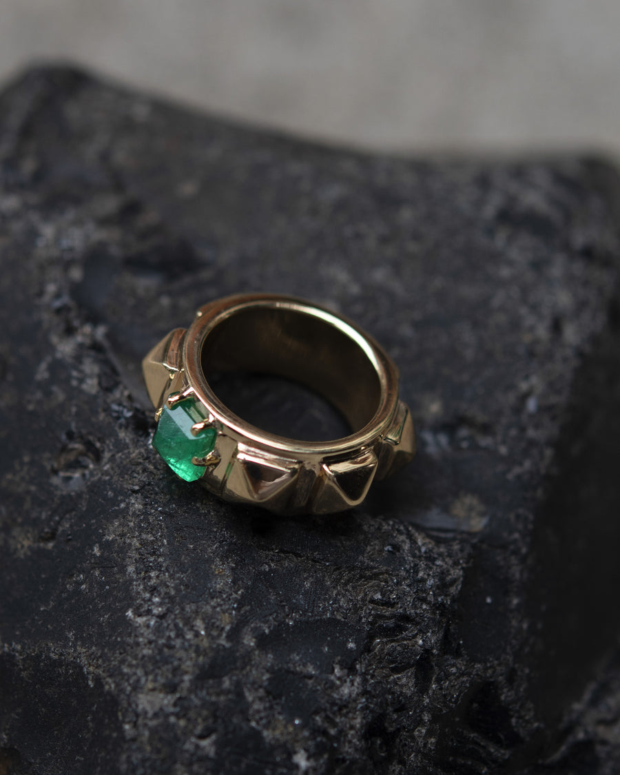 Prince Emerald Ring