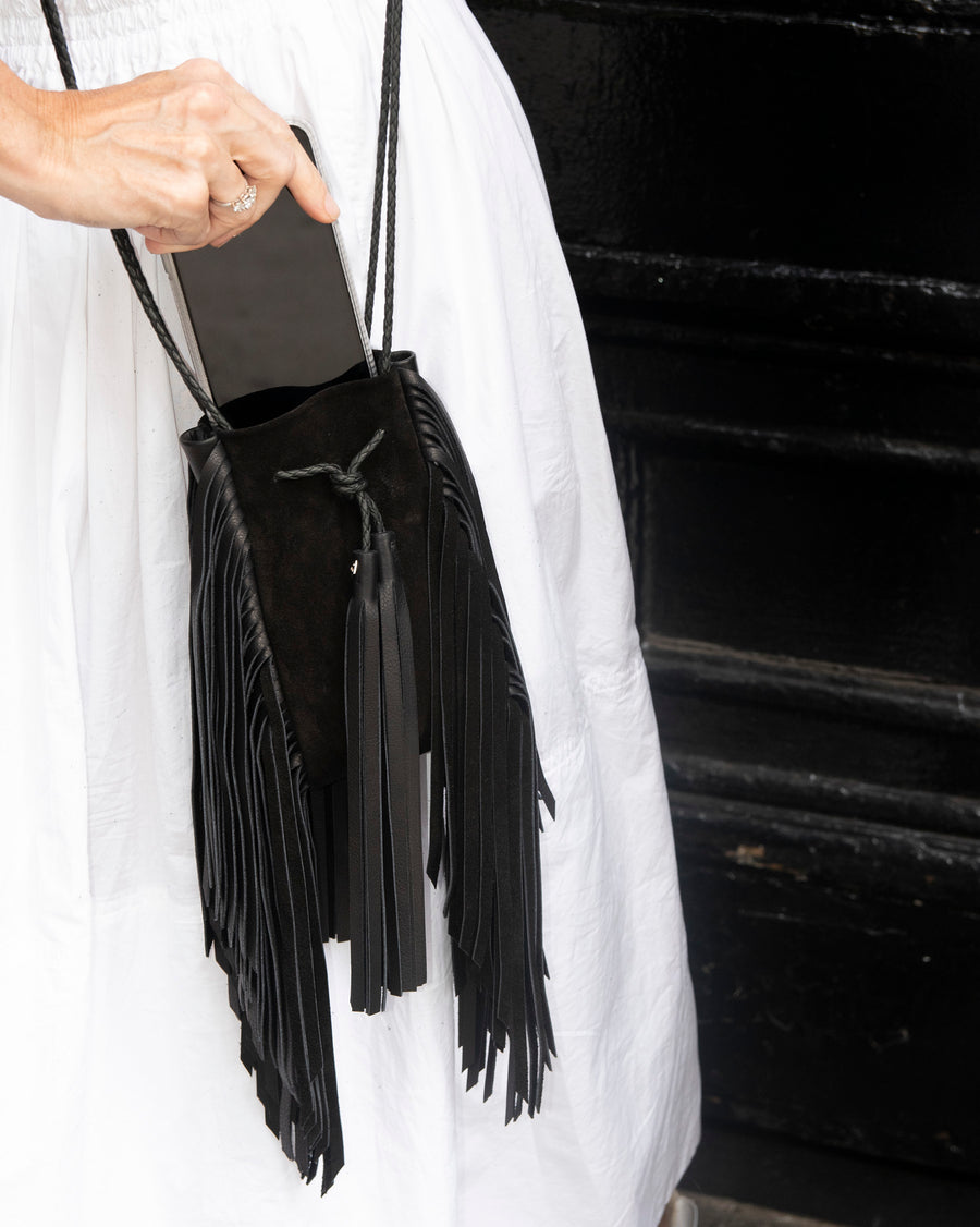Mini Super Fringe Crossbody Bag