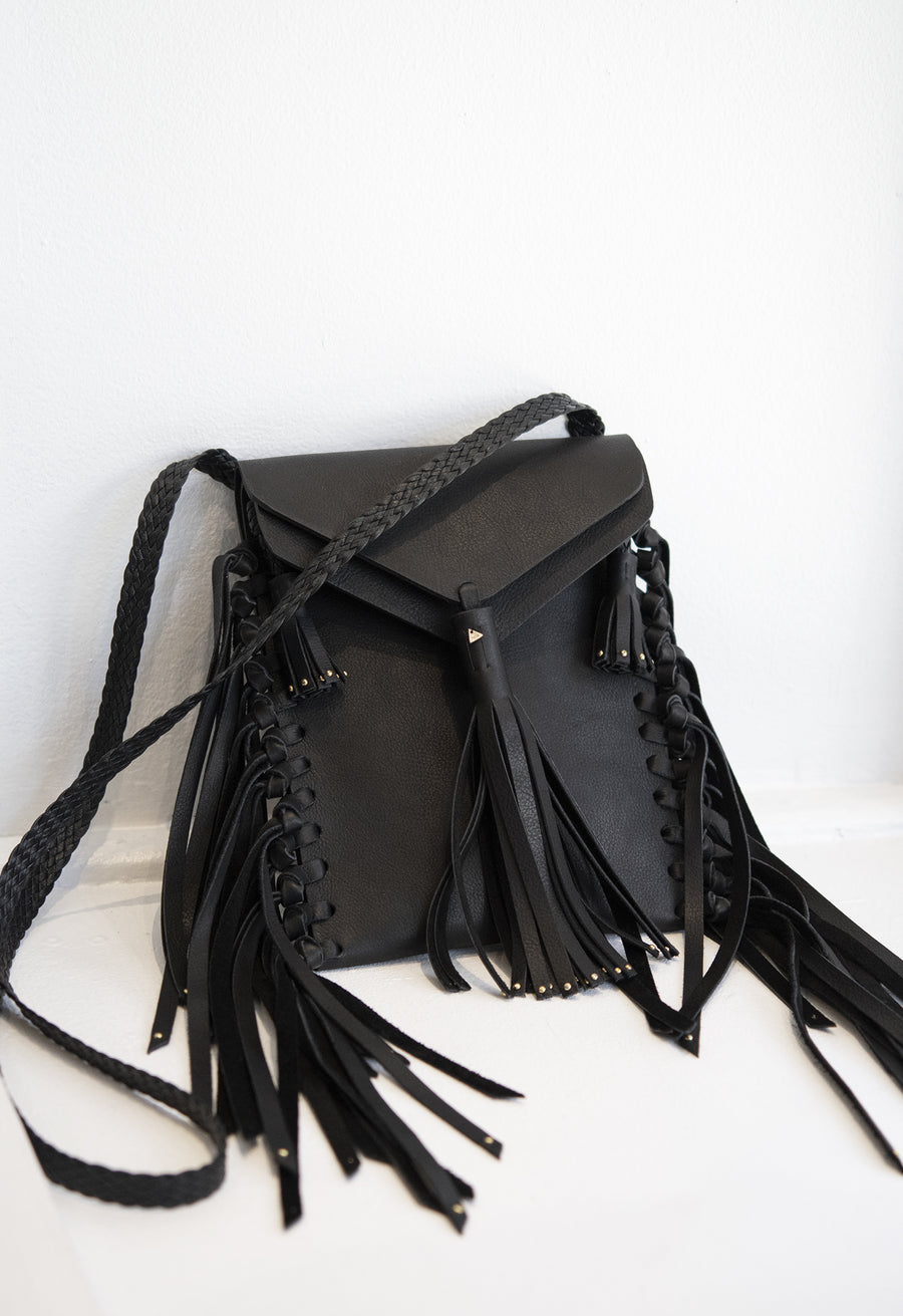 Studded Tobacco Bag