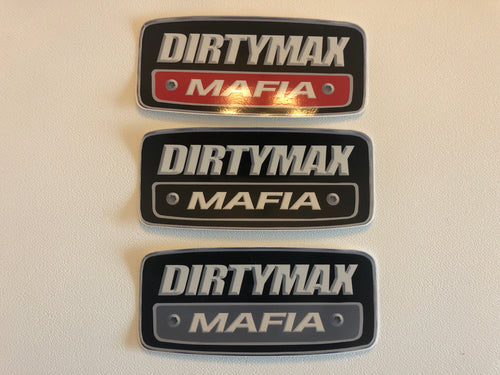 Dirtymax Mafia Logo decal