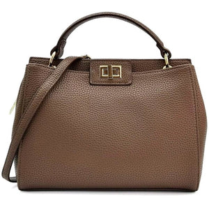 The LENA Handbag. Brown