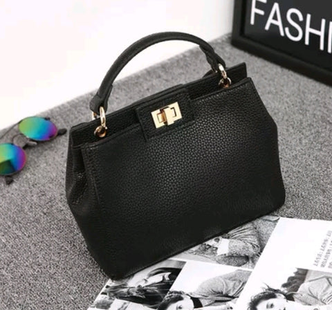 The LENA Handbag. Black