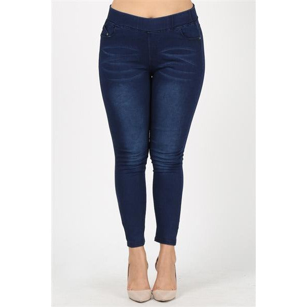 Plus Size- Joy Jeggings