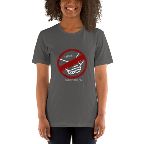 No Handshake - Short-Sleeve Unisex T-Shirt