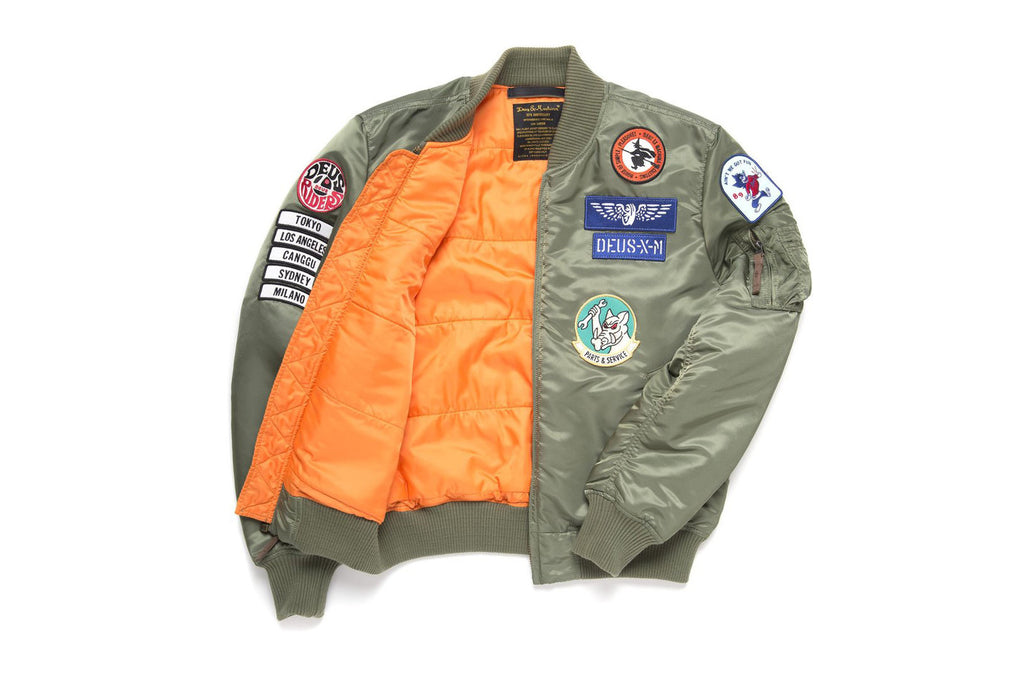 Deus Ex Machine x Alpha Industries MA-1 Flight Jacket