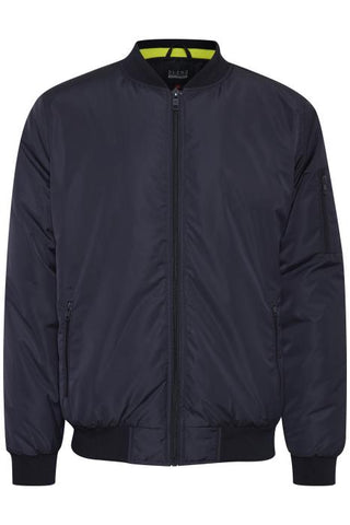 Blend Bomber Jacket - Dark Navy Blue