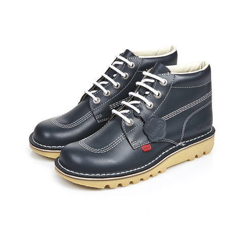 Kickers Kick Hi Leather - Dark Blue