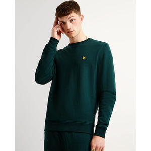 Lyle & Scott Crew Neck Sweatshirt - Jade Green