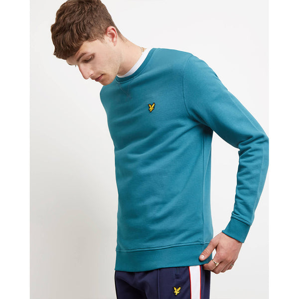 Lyle & Scott Crew Neck Sweatshirt - Petrol Green