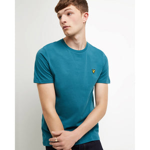 Lyle & Scott Crew Neck T-Shirt - Petrol Teal