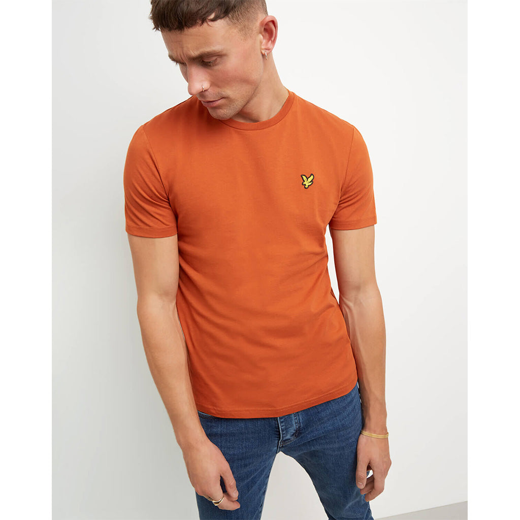 Lyle & Scott Crew Neck T-Shirt - Tobacco