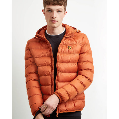 Lyle & Scott Lightweight Puffer Jacket - Tobaccoo