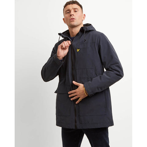 Lyle & Scott Microfleece Lined Jacket - Dark Navy
